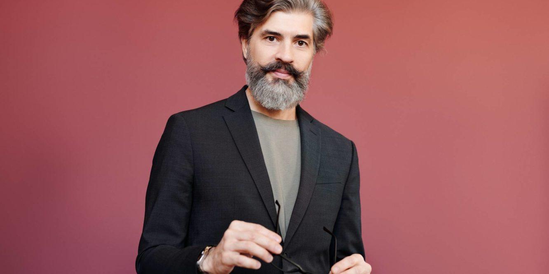 fashion man suit people